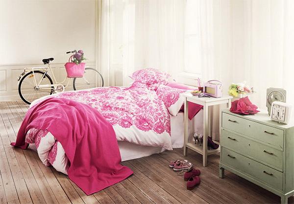 Спальня в сільському стилі