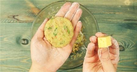 картопляні кульки з сиром рецепт приготування