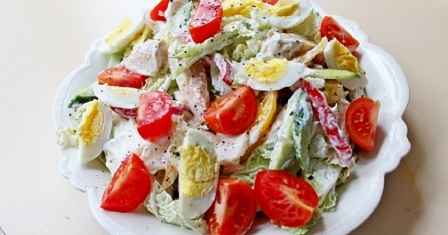салат «насолода» рецепт приготування