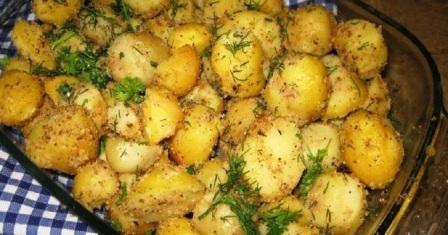 картопля в сухарях рецепт приготування