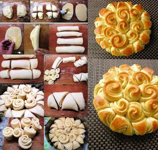 Пиріг з троянд