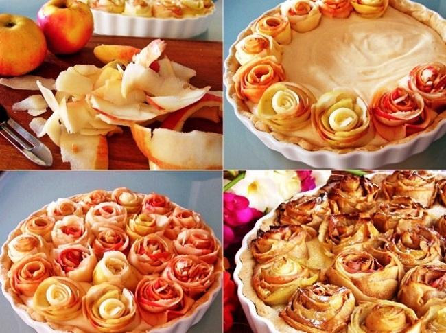 Рулети з яблук або овочів
