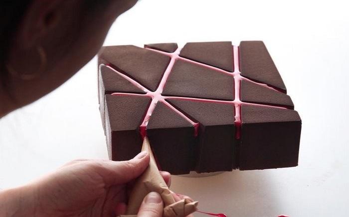 як оформити торт