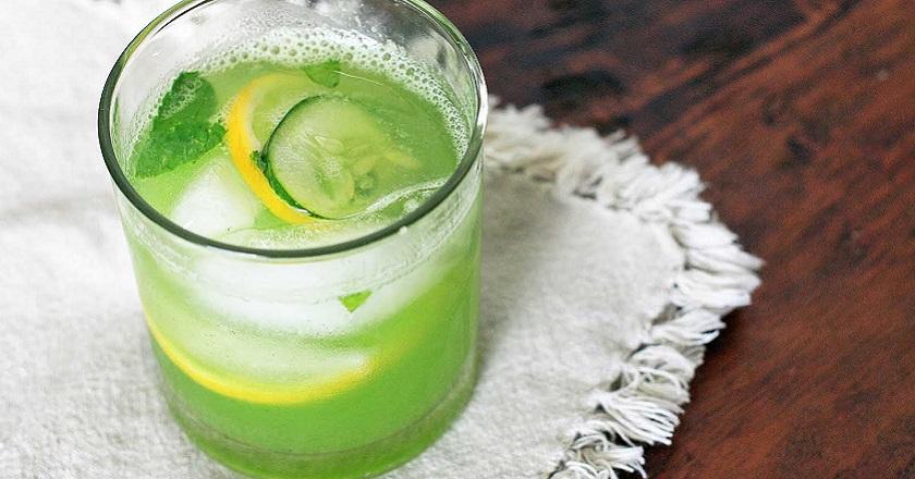 Огірковий напій для схуднення