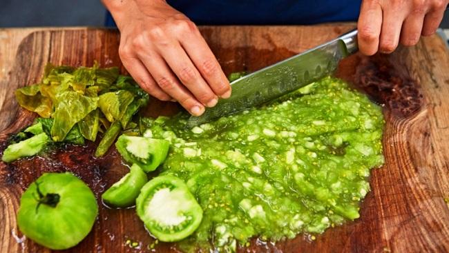 Ікра із зелених помідорів - рецепт приготування