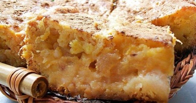 Бабка з яблуками - рецепт приготування