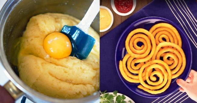 Картопляні спіральки - рецепт приготування