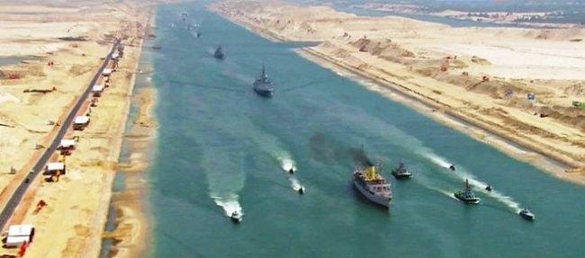 Історія будівництва Суецького каналу