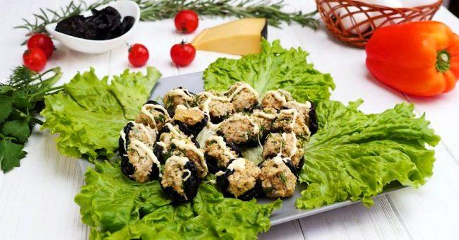 Мідії з чорносливу - рецепт приготування