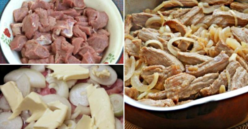М'ясо по-кремлівськи – рецепт приготування покроковий з фото