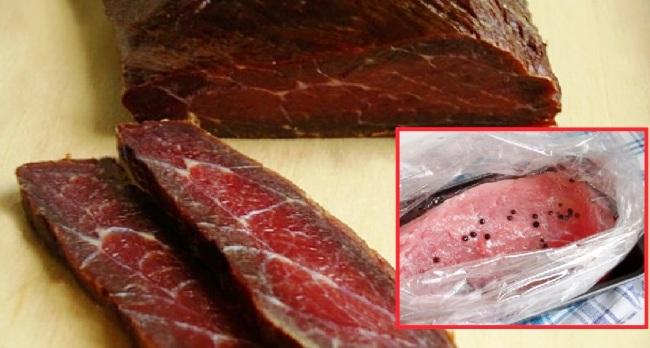 Яловичина на горілці - рецепт приготування