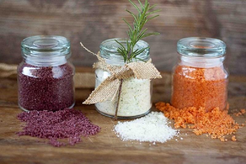 Як приготувати різні види солі