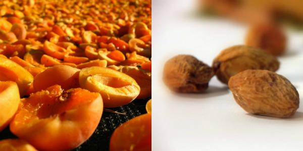 як сушать абрикоси