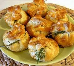 Мішечки з листкового тіста