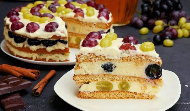 Торт «Насолода» - рецепт приготування