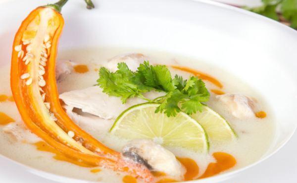 Суп з імбиром - рецепт приготування
