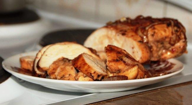Куряча грудка в маринаді - рецепт приготування