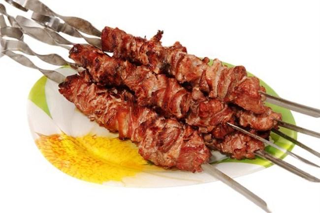 Шашлик з баранини - рецепт приготування