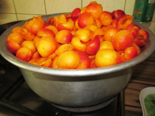 Абрикосовий джем - рецепт приготування покроковий з фото